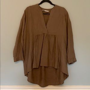Brown Zara Tunic